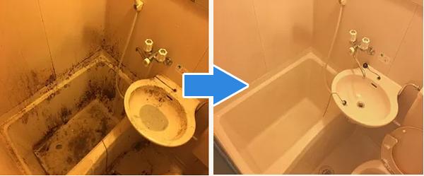 水回り4点セット(キッチン.トイレ.浴室.洗面)が一番人気BA